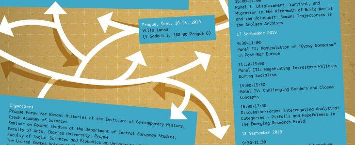 Mezinárodní konference: Trajektorie migrací a mobilit Romů v Evropě a mimo ni (od roku 1945 po současnost)