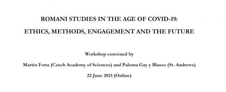 Workshop: Romská studia v době Covidu